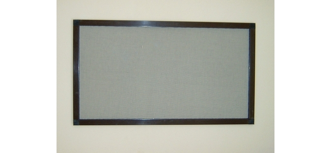 Pet Safety Window Screen - Kit 2 PSB2 Brown Aluminium