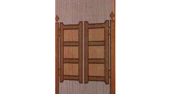 Chain Link Window Fly Screens - Patterned