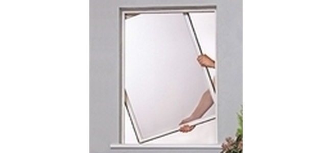 Framed Window Fly Screen - Kit 3 RFW1215 White Alu
