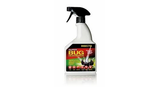 Insecto Super Fly, Wasp & Insect Destroyer Spray