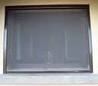 Window Roller Blind Fly Screen - Kit 1 Brown Alu