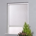 Window Roller Blind Fly Screen - Kit 2 White UPVC