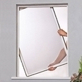 Rigid Framed Window Flyscreen - Kit 3 RFW1215 White Alu