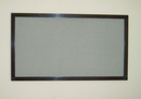 Fixed Framed Window Fly Screens - Kit 1 RFB912 Brown Alu